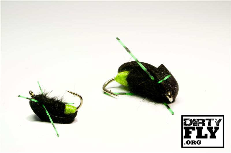 Green Ass Black Bug