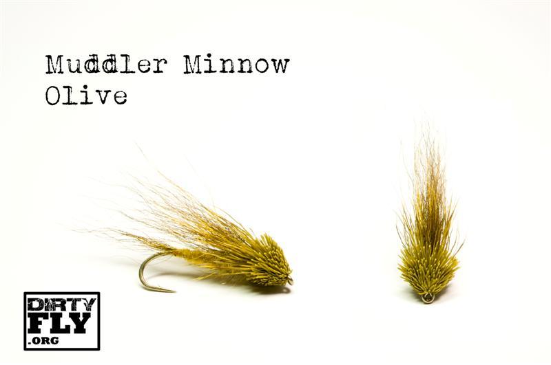 Muddler Minnow Olive