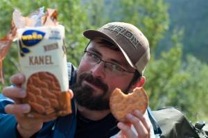 Burundukas rado sausainiu